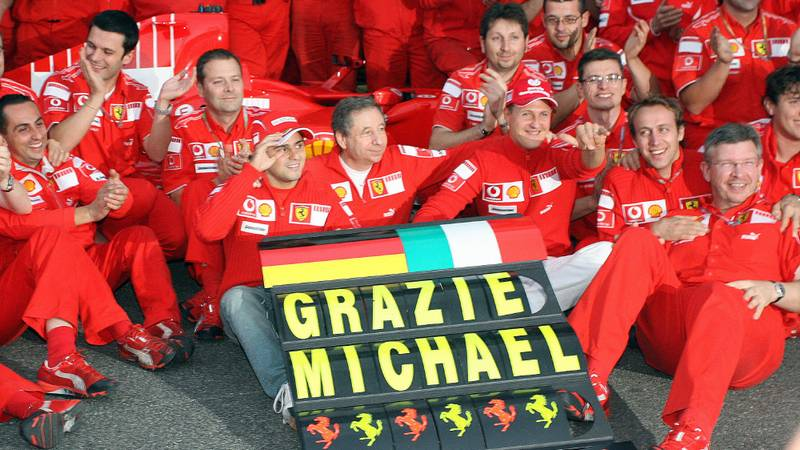 2006 Brazilian gp, Michael Schumacher