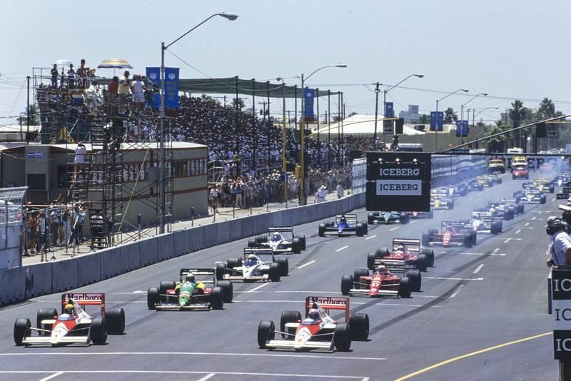 1989 US GP start