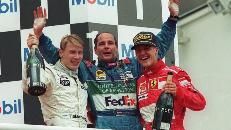 Gerhard Berger, 1997 German GP