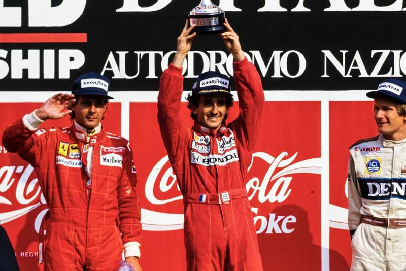 1989 ITA GP podium