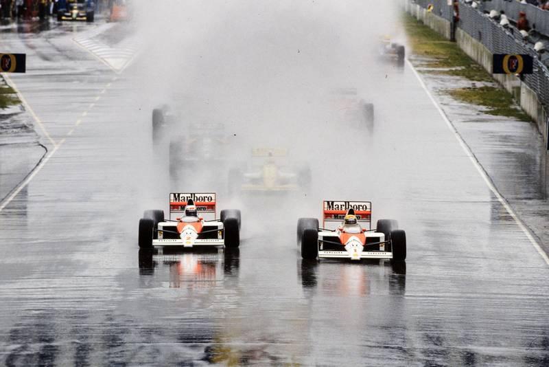 1989 AUS GP start