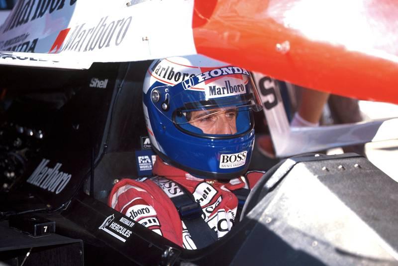 1989 AUS GP Prost pole