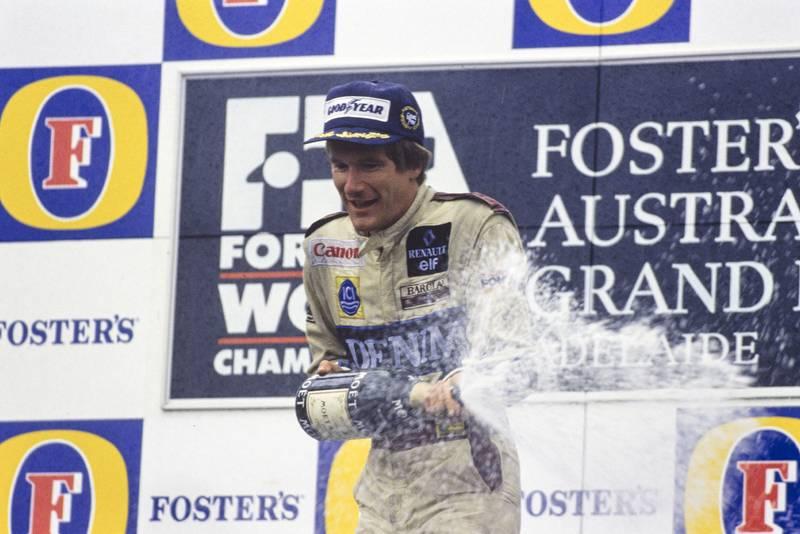 1989 AUS GP podium