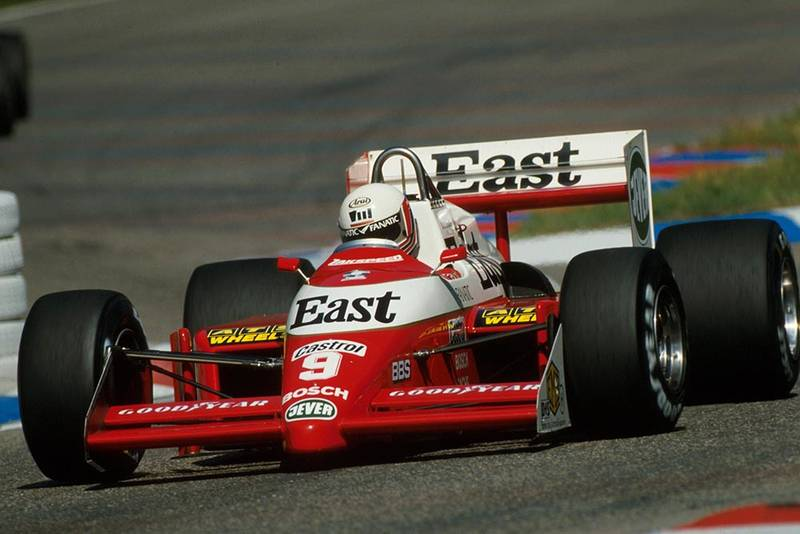 Martin Brundle did not finish in his Zakspeed 871.