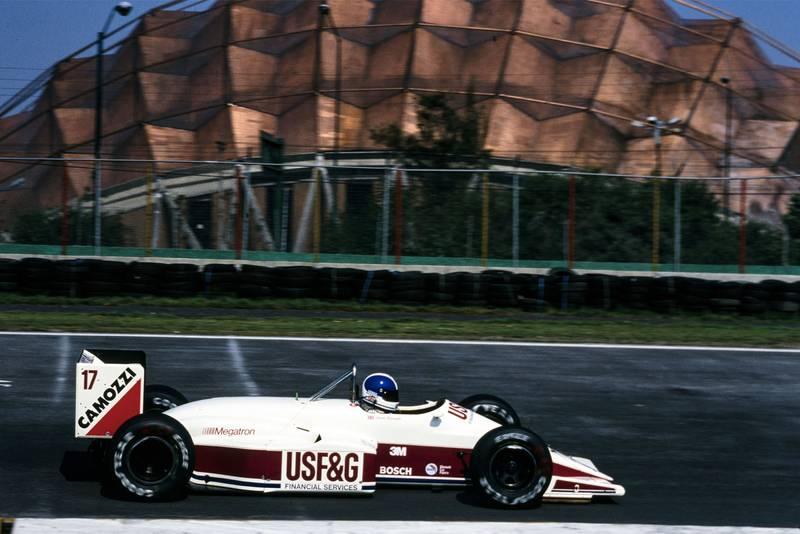 1988 MEX GP Warwick 5th
