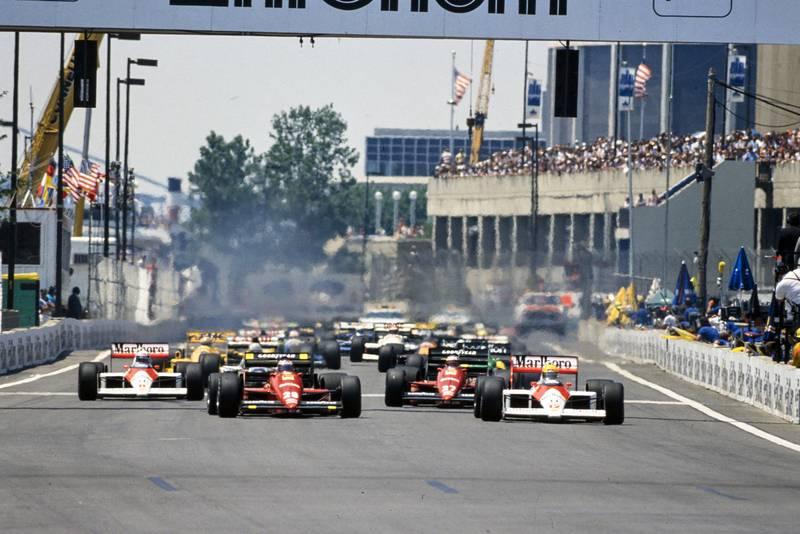 1988 US GP start