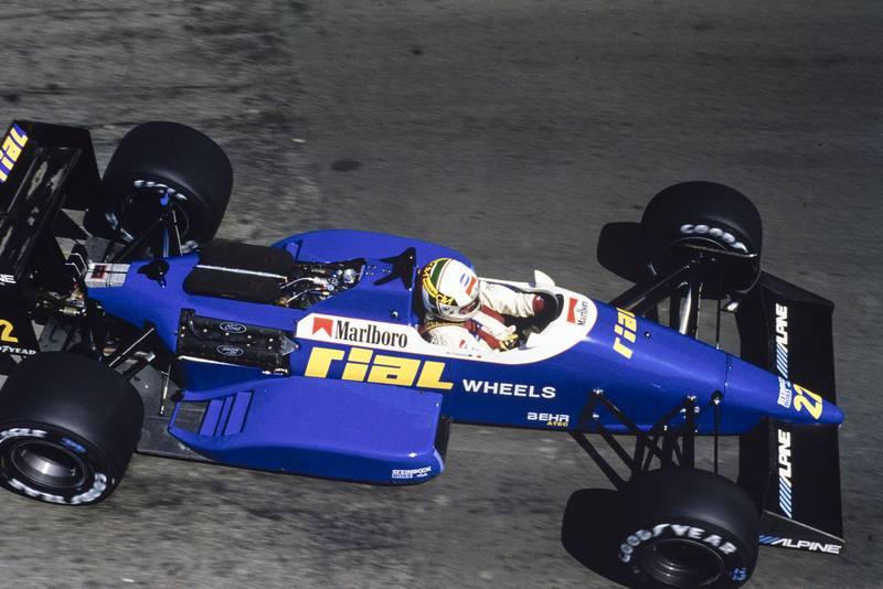 1988 US GP de Cesaris 4th