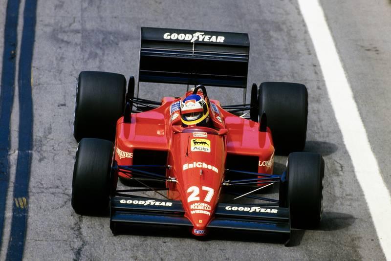 1988 US GP AlboretoQ3