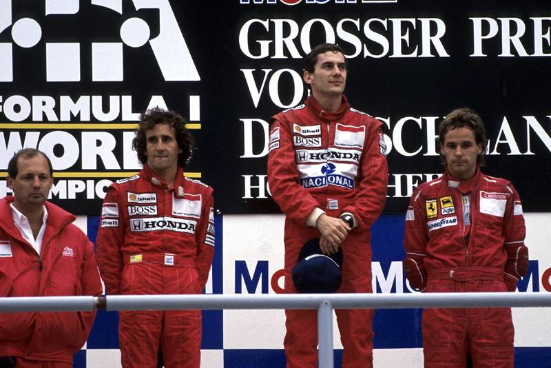 1988 GER GP podium