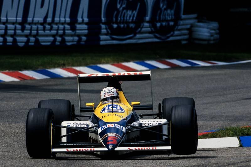 1988 GER GP Mansell