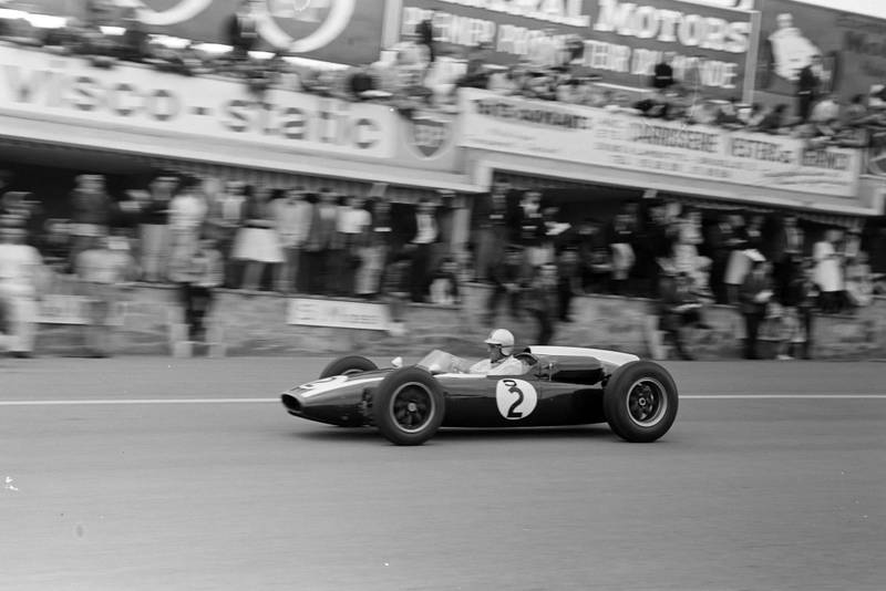 Brabham scored a pole for Cooper