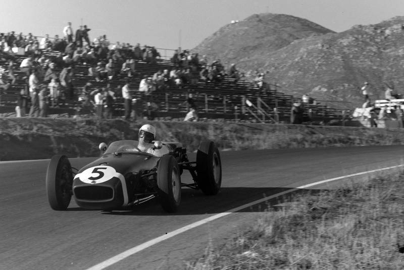 Stirling Moss took his first win since returning from injury