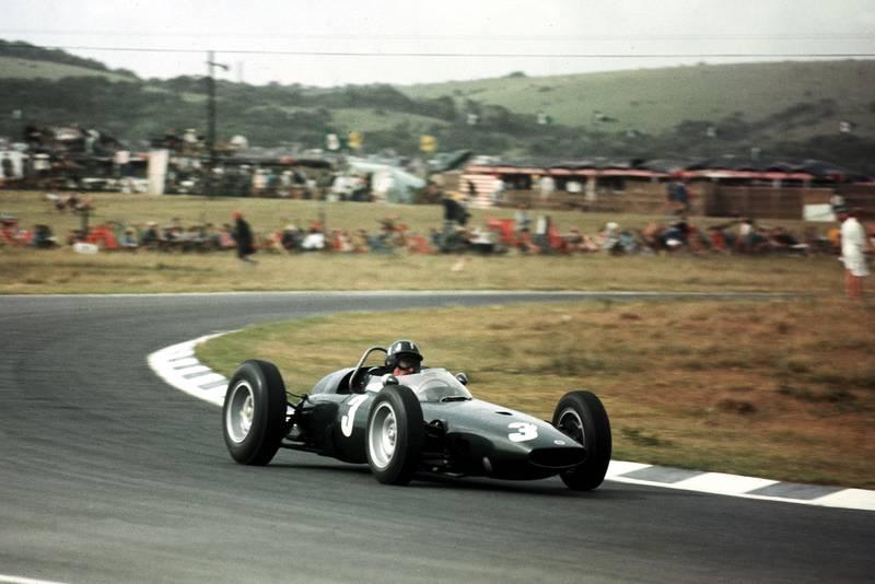 Graham Hill (BRM P57).