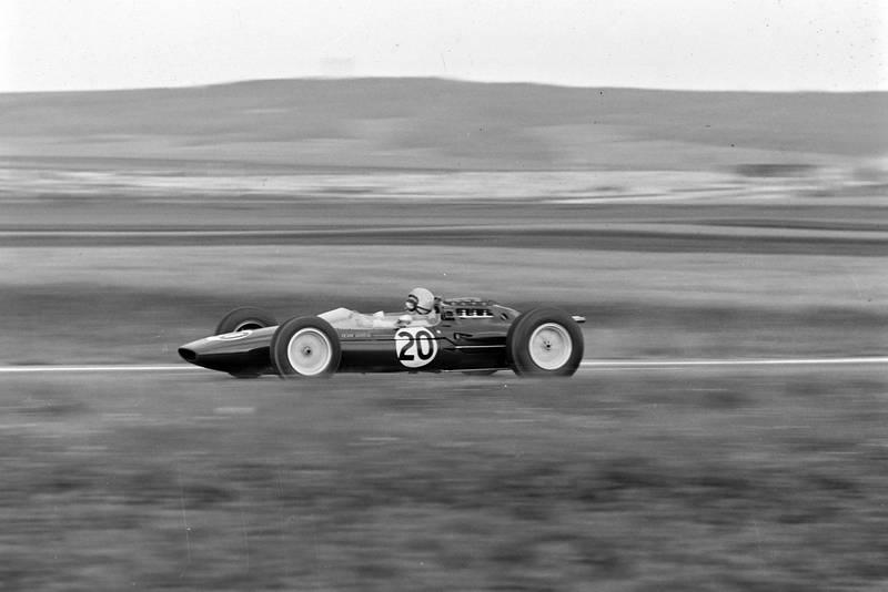 Trevor Taylor, Lotus 25 Climax.