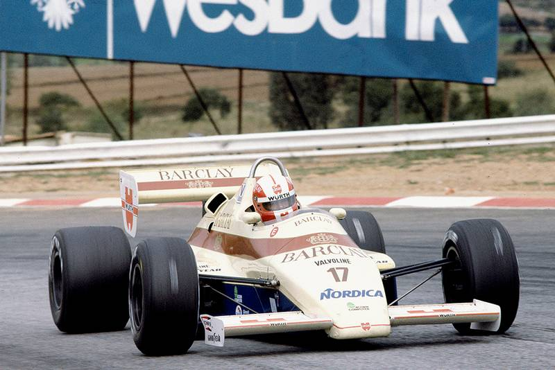 Marc Surer in his Arrows A6 Ford.