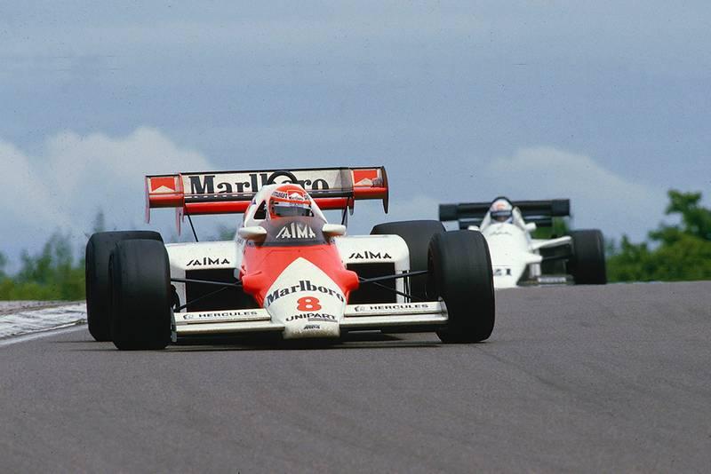 Winner Niki Lauda in his McLaren MP4/2.