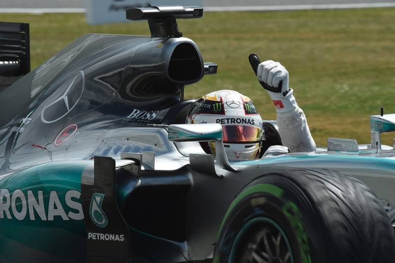 2015 British GP report