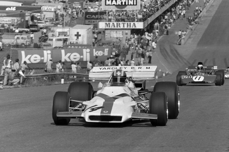 Jo Siffert driving for BRm at the 1971 Austrian Grand Prix.