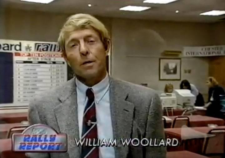 William Woollard: Rally GB hero
