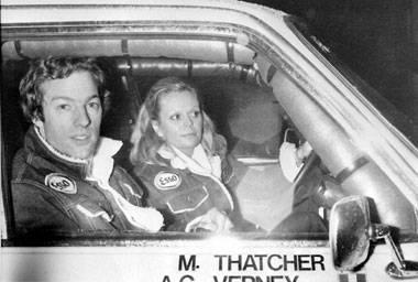 Thatcher lost on Dakar Rally