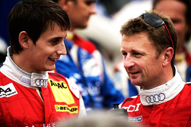 Audi's McNish and Jarvis on Le Mans