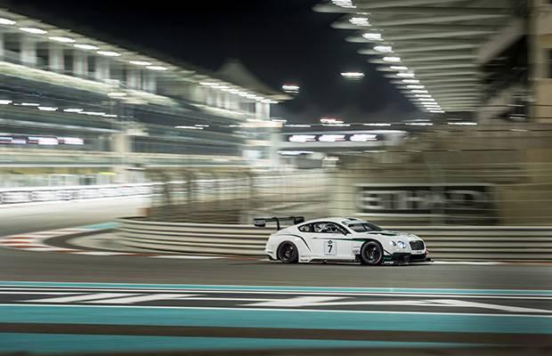 Bentley GT3 shows potential
