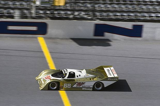 Mario Andretti's adventures at Daytona