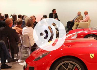 Ferrari evening with Piper and Attwood