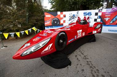 The Delta Wing makes its track debut