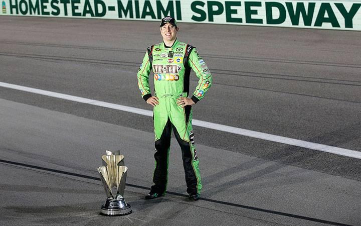 Kyle Busch's first Sprint Cup