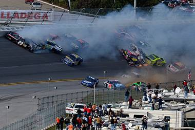 Escaping the 'Big One' at Talladega