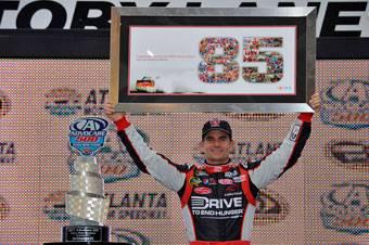 Gordon makes NASCAR history