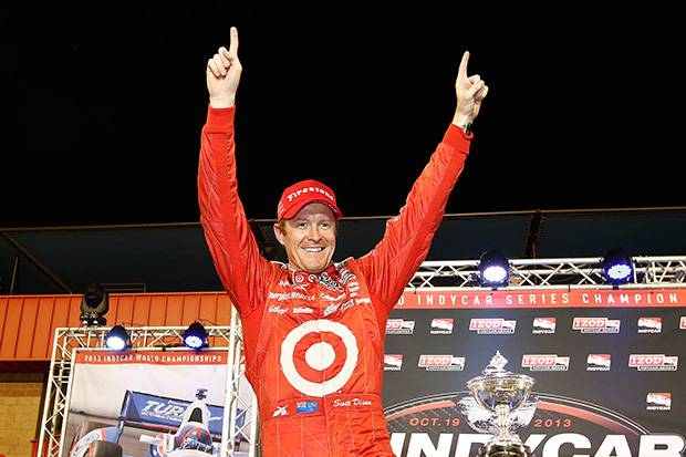 Scott Dixon wins his third IndyCar title
