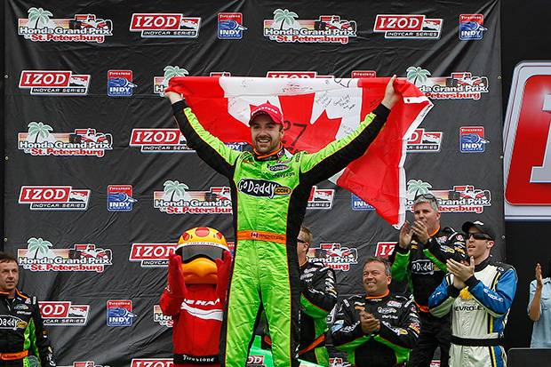 Hinchcliffe takes maiden IndyCar win