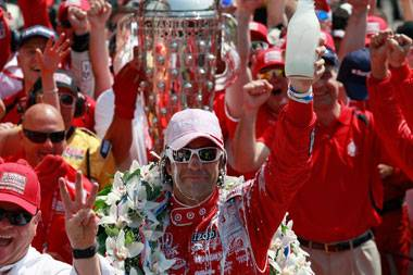 Franchitti's superb third Indy 500 win