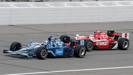 Ganassi pair prevail pre-Indy