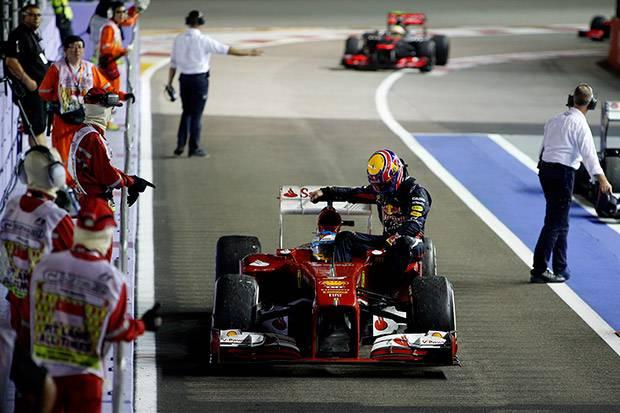 Webber's Singapore reprimand
