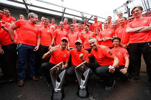 Well done to McLaren