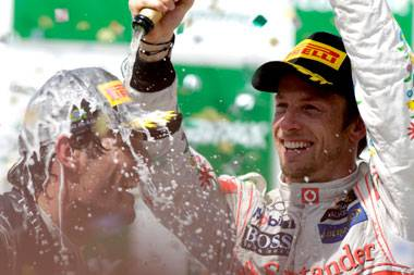 Jenson Button on battling Webber