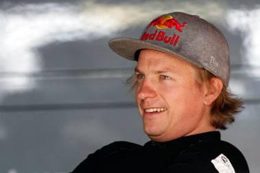 Carefully does it, Kimi Räikkönen…