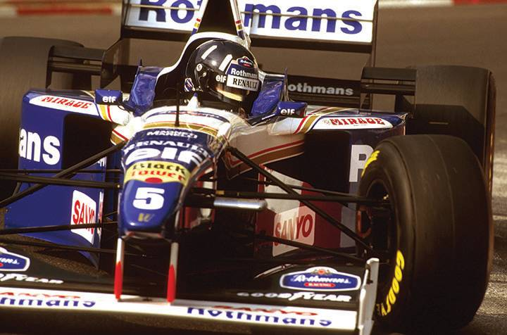 Great racing cars: Williams FW18 and FW19