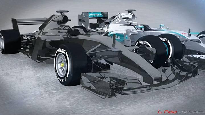 The 2017 Formula 1 car