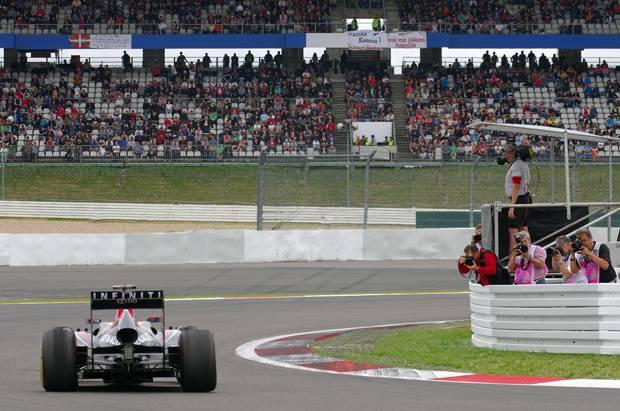 German Grand Prix – day one