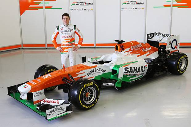Force India VJM06 launch at Silverstone