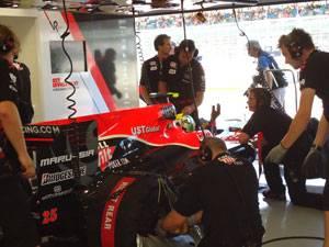 Behind the scenes at Virgin Racing