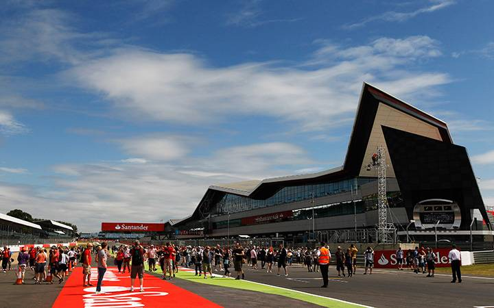 Another new start at Silverstone