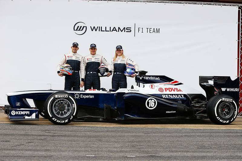 2013 F1 car launches
