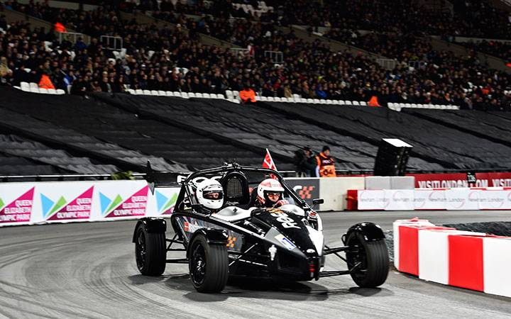 Race of Champions: the view from the couch
