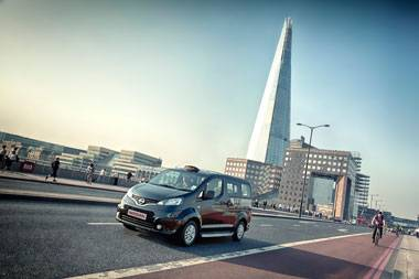 Nissan NV200 spells end for London taxi