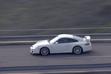 Fitting the wrong tyres on the 911 GT3
